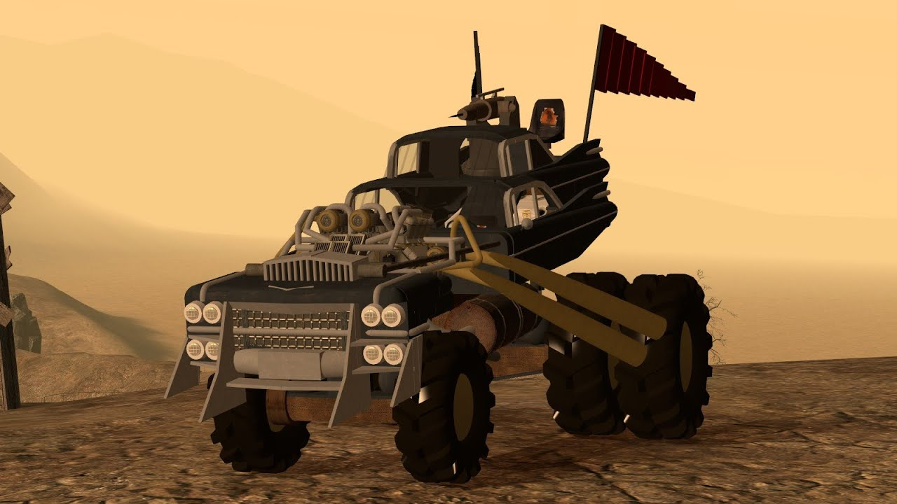 Garry's Mod - Mad Max: Gigahorse
