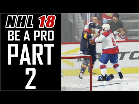 NHL 18 - Be A Pro Career - Let's Play - Part 2 - 'Memorial Cup Round Robin' | DanQ8000