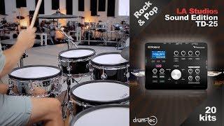 Baixar Roland TD-25 LA Studio Sound Edition by drum-tec all kits demo