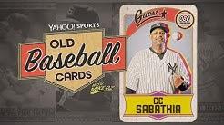 Yankees Pitcher CC Sabathia Talks About Hitting a Homer, Facing Cal Ripken | Old Baseball Cards