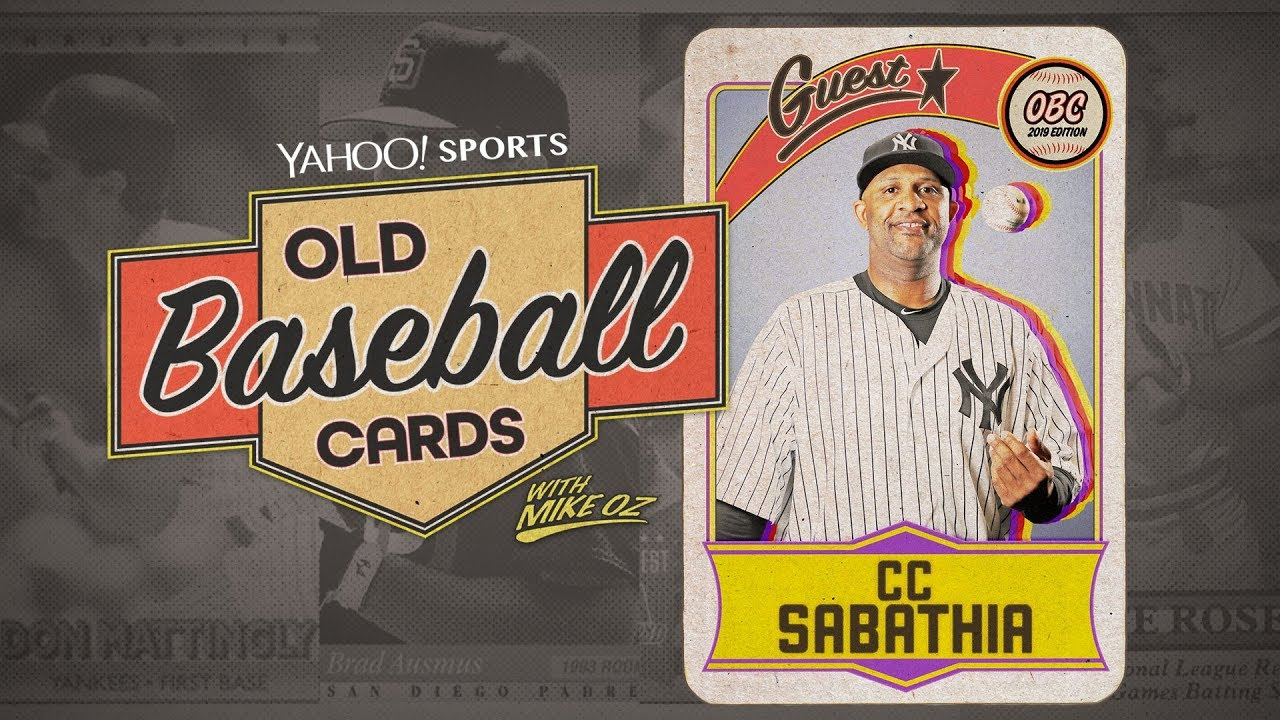 Yankees Pitcher Cc Sabathia Talks About Hitting A Homer Facing Cal Ripken Old Baseball Cards
