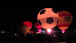 2013 Great Reno Balloon Race - Dueling Banjos during the Glow Show