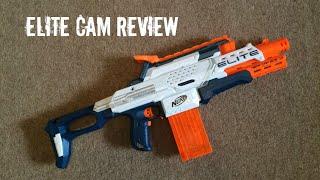 Nerf N-Strike Elite Cam ECS-12 Unboxing, Review & Range Test