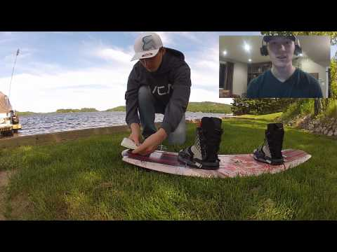 How NOT to attach a GoPro to a Wakeboard