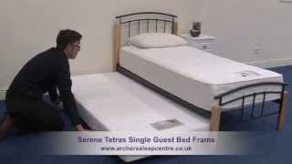 Serene Tetras Single Guest Bed Frame