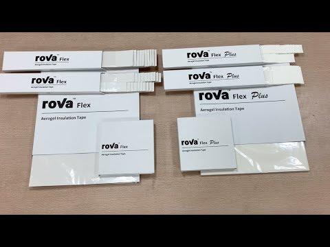 3.9 x 19.7 10cm x 50cm 3.9 x 19.7 roVa Flex Plus Aerogel Insulation Tape 10cm x 50cm roVa Corporation