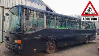 Unser Bus wird schwarz lackiert | Dumm Tüch