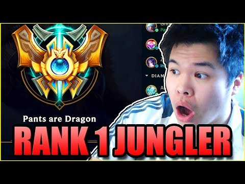 PANTS BECOMES THE RANK 1 JUNGLER? - Challenger to RANK 1
