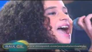 Brazilians Got Talent 2011 - Amazing Grace - Jotta A - The Best Kids