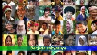 Lagu Perjuangan / Lagu Wajib - Bhineka Tunggal Ika (lirik) (SMA N 1 DEMAK)
