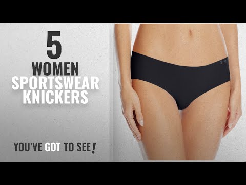Top 10 Women Sportswear Knickers [2018]: Under Armour Women Pure Stretch Hipster Brief - Black, MD