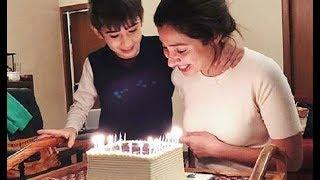 Mahira Khan Celebrates Her Birthday With Son Azlaan