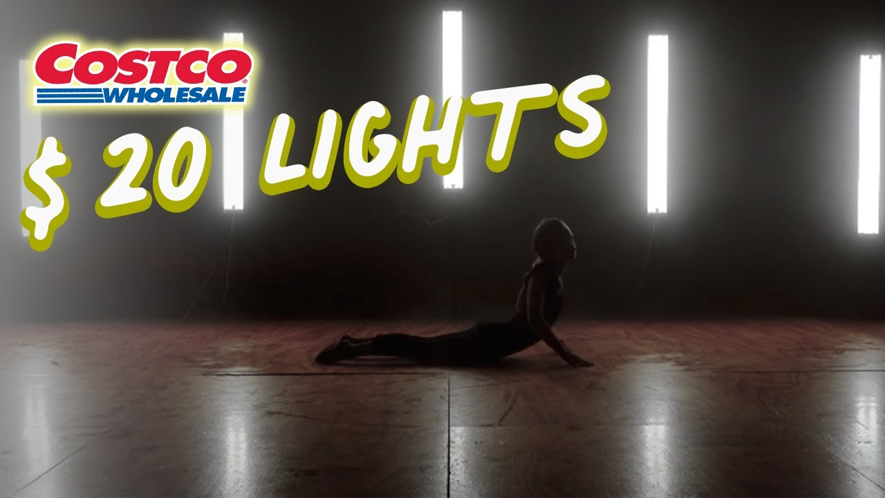 We used Costco Lighting For A Music Video