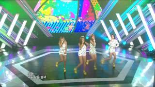 Sistar - Loving U, 씨스타 - 러빙유, Music Core 20120721