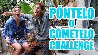 PÓNTELO O CÓMETELO CHALLENGE  ft. Lele Pons #Zuripons / Juanpa Zurita