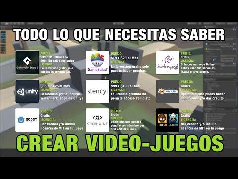 Programas Para Crear Vídeo-Juegos (Nueva Lista #2)