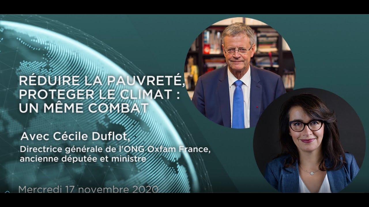 Comprendre le monde S4#12 – Cécile Duflot - Réduire la pauvreté, protéger le climat : un même combat