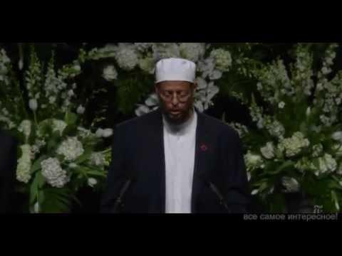чтение КОРАНА НА ПОХОРОНАХ Мухаммада АЛИ
