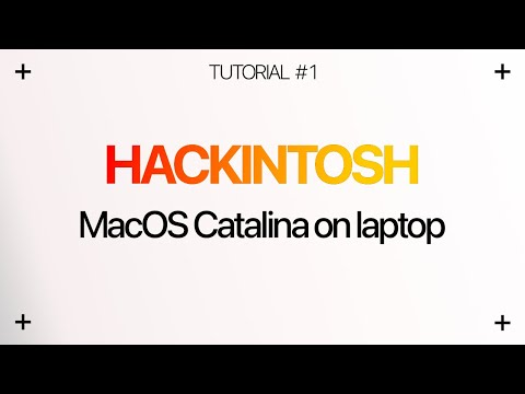 TUTORIAL) How to install macOS Catalina on Laptop | Hackintosher