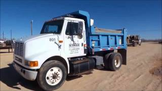 1997 International 8100 dump truck for sale | sold at auction January 26, 2016