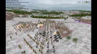 Dominions 4 battle between C