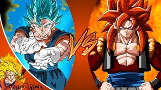 VEGITO vs GOGETA! (Dragon Ball Super vs Dragon Ball GT) CFC EP 186 ft. UnrealEntGaming REACTION!!! thumbnail