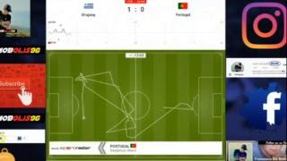 Portugal Vs Uruguay 0-1 Live || FIFA World Cup 2018 Live Stream || English commentary