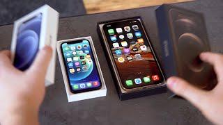 iPhone 12 mini & Pro Max: Unboxing, Größenvergleich & Gewinnspiel!