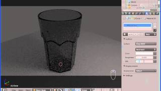 Blender Tutorial: Creating A Glass in Blender (Hebrew)