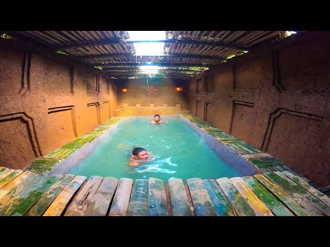 Build Swimming Pool Around Secret Underground House