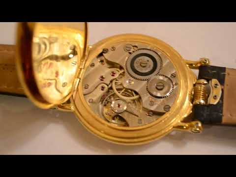 Rolex Marconi 15 jewels antique transformed to wristwatch antique military officers pocket watch