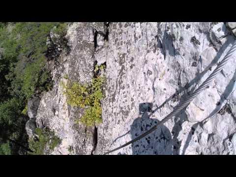Nelson Rocks WV Via Ferratta
