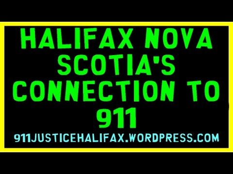 Halifax Nova Scotia's Connection to 911