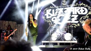 blizzard of ozz crazy train dallas 08 22 15