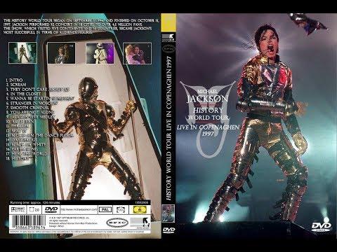 Michael Jackson - History Tour - Copenhagen - Show Completo  HD 1997