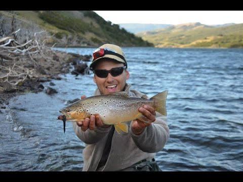 Coyhaique Fly fishing Patagonia Chile, Hunted by water, 2015.
