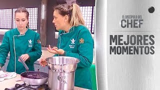 María Jesús Herrera se molestó al no ser escuchada por su equipo - El Discípulo del Chef