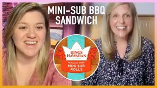 Kelly Learns How To Whip Up A Wow-Worthy Lunchbox Recipe: Mini-Sub BBQ Sandwiches