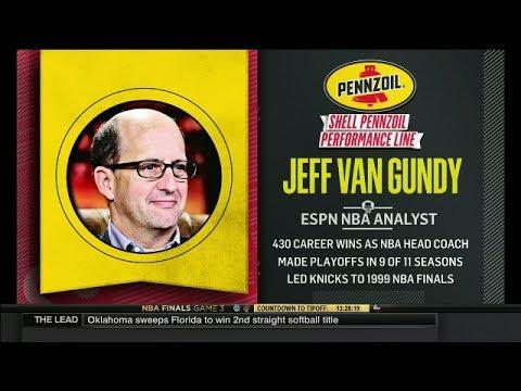 Mike & Mike: Jeff Van Gundy On Cavaliers - Warriors Game 3 & Kevin Durant' Dominance   June 7, 2017