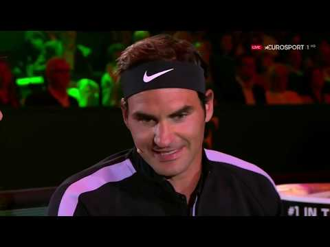 Roger Federer v Andy Murray The Match for Africa 3 Zürich 2017