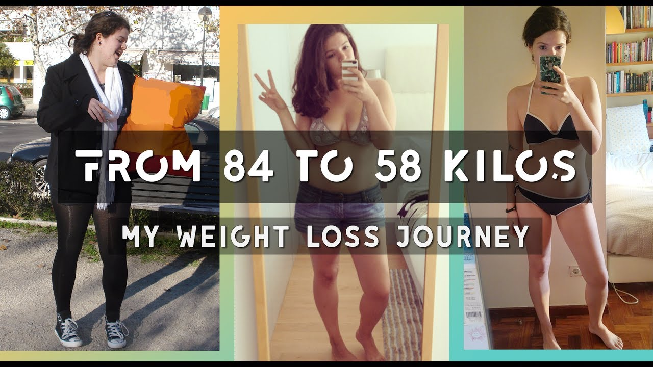 75kg to 55kg weight loss