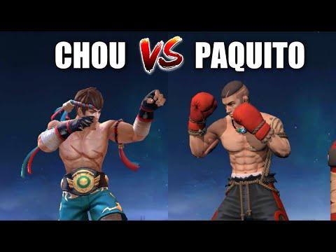 CHOU VS PAQUITO? | MOBILE LEGENDS BANG BANG
