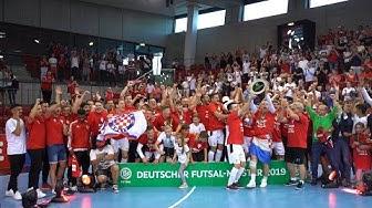 Endspiel - Deutsche Futsal-Meisterschaft 2019   TSV Weilimdorf
