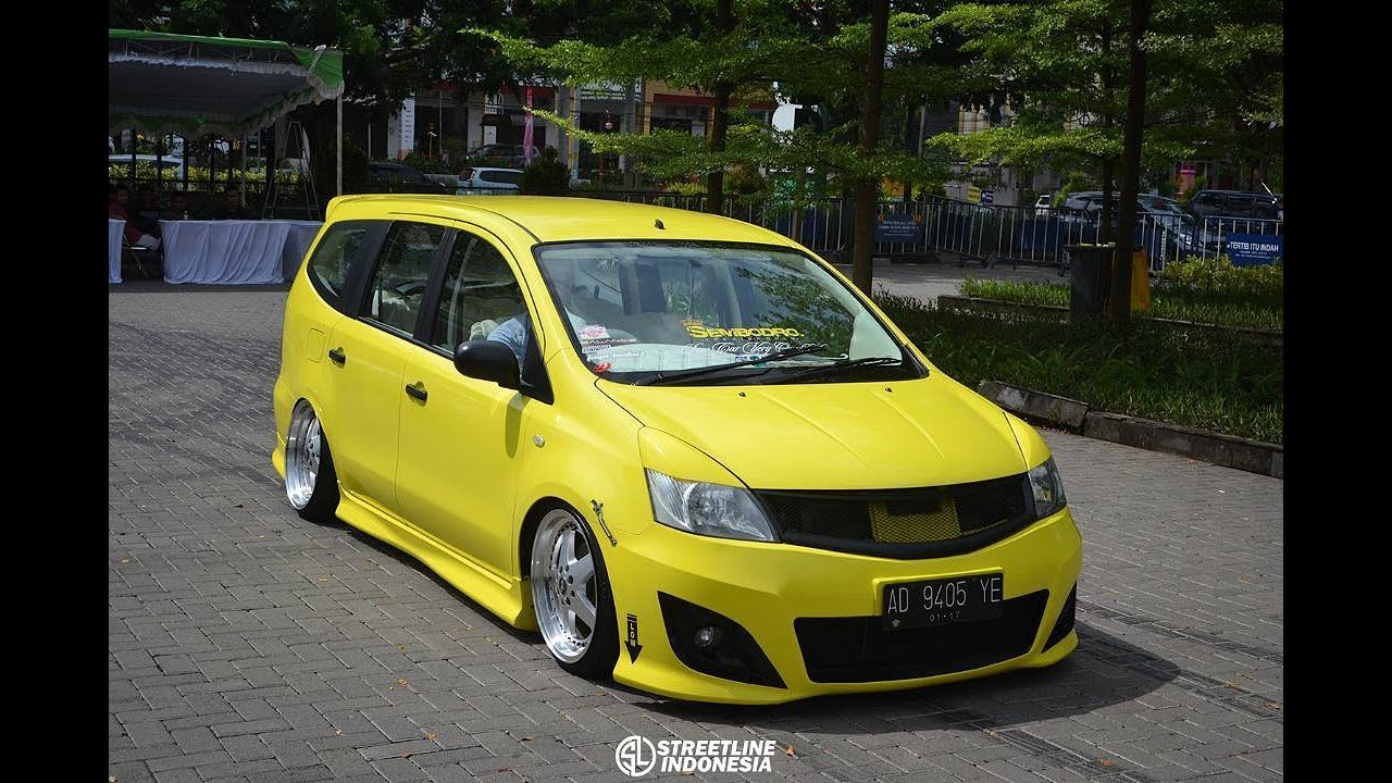 CONTOH MODIFIKASI Nissan Grand LIVINA CEPER YouTube