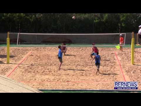 Cayman vs Jersey Mens Beach Volleyball, July 15 2013