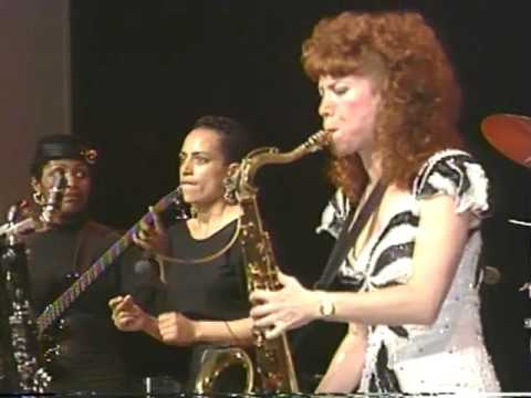 Kit McClure's All Girl Big Band in Concert at Cheyney University April 4, 1989  Part 2 of 2