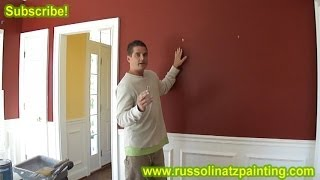 Diy How To Paint A Room  (part 1) - How To Paint A Straight Line - Interior Painting
