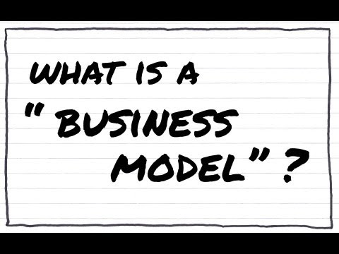 What is a BUSINESS MODEL  YouTube