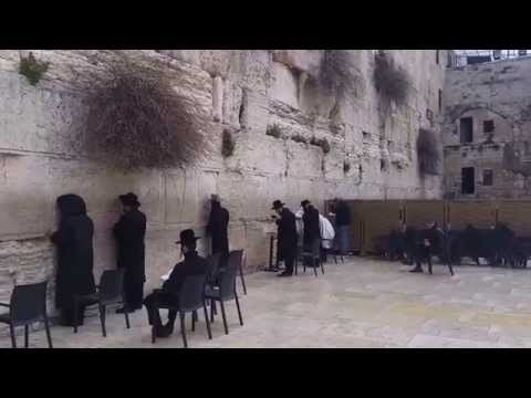 Klagemauer in Jerusalem (Western Wall)