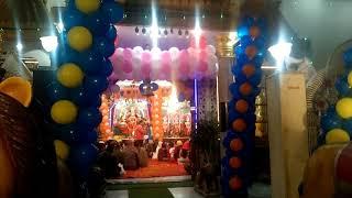 At Jakarta shri mata vaishno Devi Charan. Mandir in
